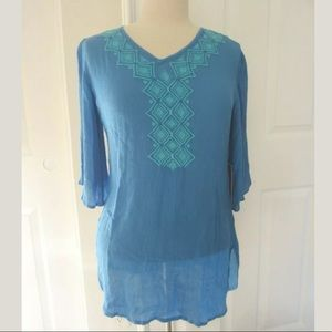 NWT Lilly Pulitzer for Target Blue Tunic